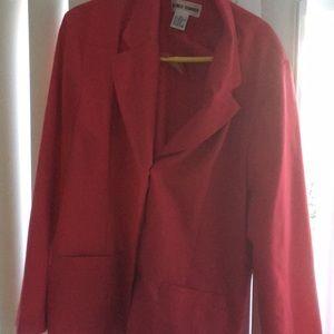 Alfred Dunner pink size 18 blazer